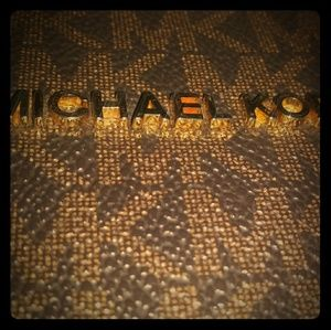 Michael kors jet set large shoulder bag